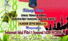 SELAMAT HARI RAYA IDUL FITRI 1 SYAWAL 1439 H/2018